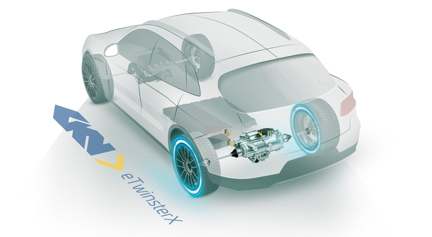 GKN reveals advanced electric driveline