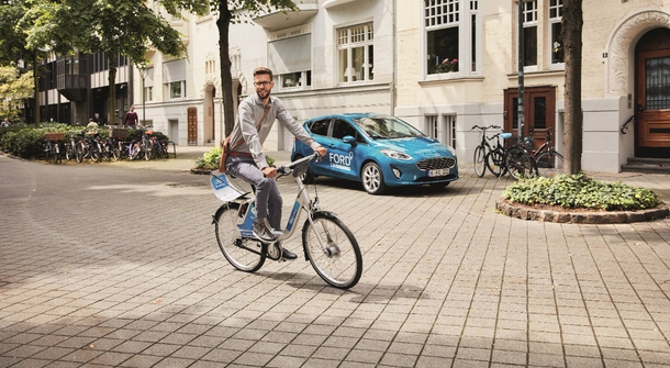 Ford is going green with the help of bycicles