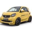 Brabus introduced an extremely sporty electric Smart ForTwo