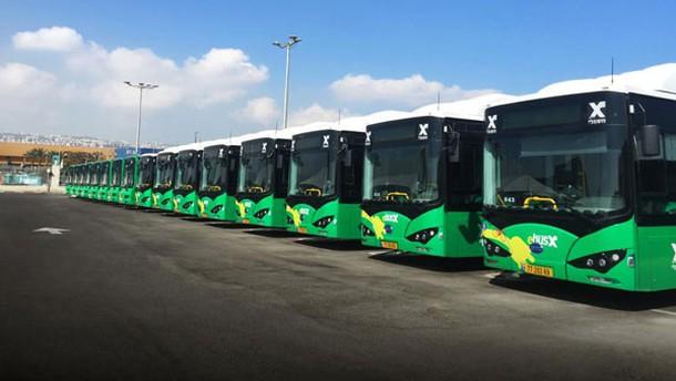 BYD buss in Haifa...