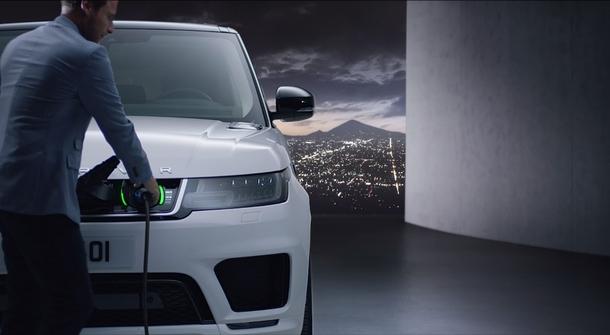 Land Rover electrified Range Rover Sport