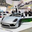 Porsche Cayman e-volution predicts company's electric future