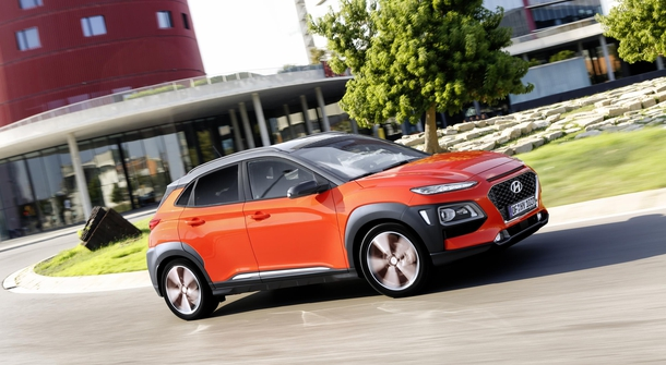 New Hyundai Kona crossover will also have electric drive