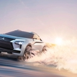 Mitsubishi unveiled an electric EVO