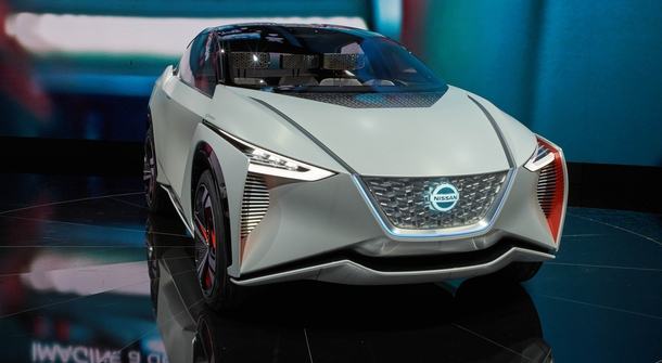 Nissan unveiled an electric crossover for the future