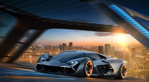 Lamborghini introduces electric supercar  – unfortunately just as a concept