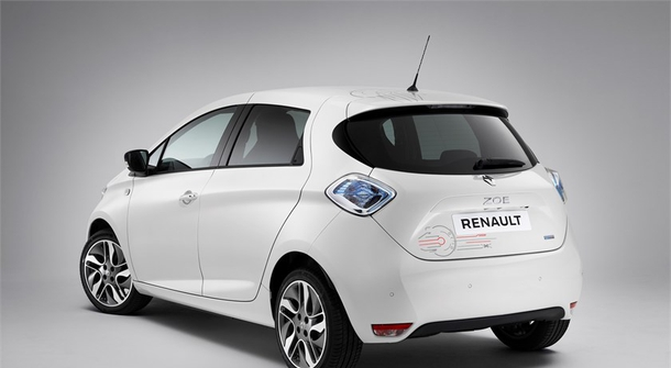 Renault Zoe for Star Wars