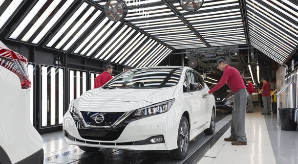 Nissan starts production of new Leaf in Europe
