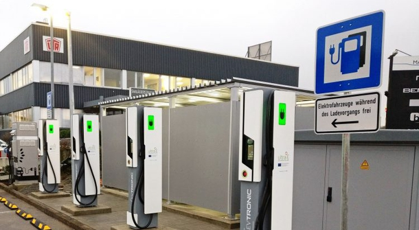 First Ultra-fast charging station opened in Aschaffenburg