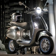 70 years after first motorcycle came out from the factory,Vespa goes electric
