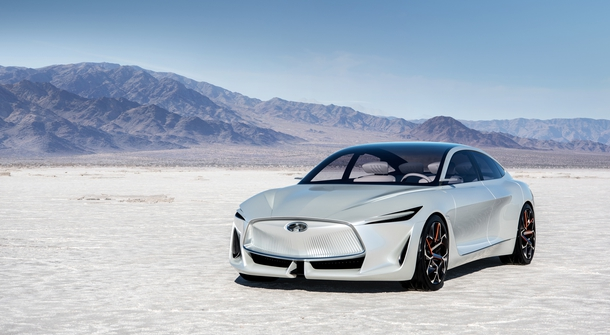 Infiniti is previewing new generation of its cars in Detroit