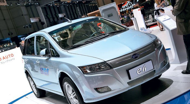 BYD number one EV manufacturer in 2017