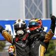 First double win on the Santiago Formula E race