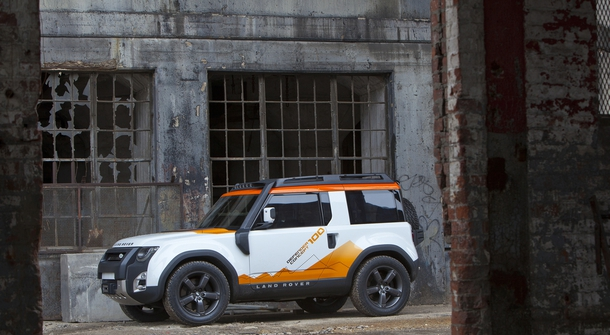 Land Rover Defender also as a pure EV after 2019