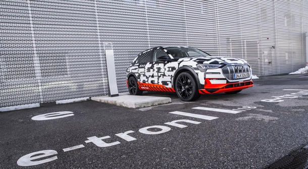 Audi E-Tron is arriving in August