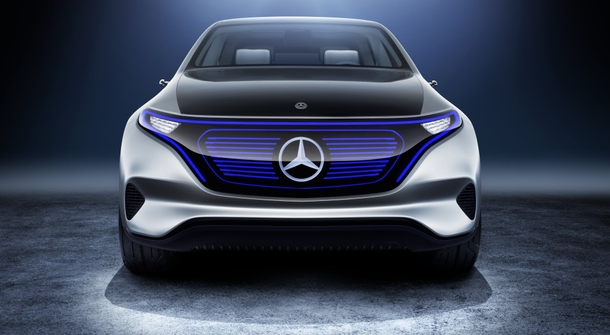 Mercedes Benz to present high-end electric saloon by the year 2022