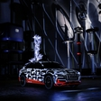 Audi e-tron locked in a Faraday cage