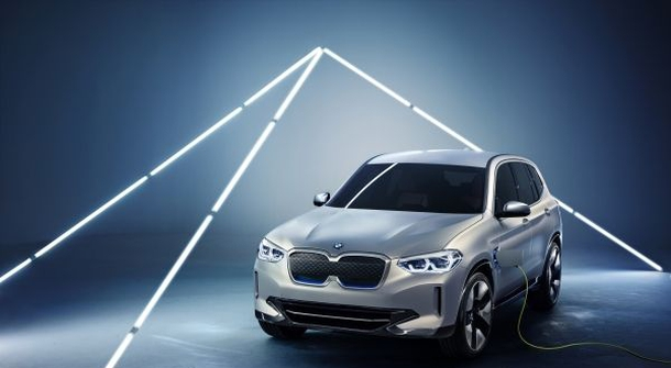 BMW Concept iX3: BMW's electric crossover is coming in 2020