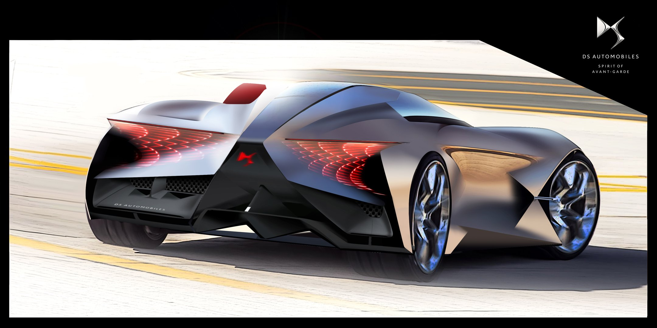 ds automobiles presented sports car for the far future driving