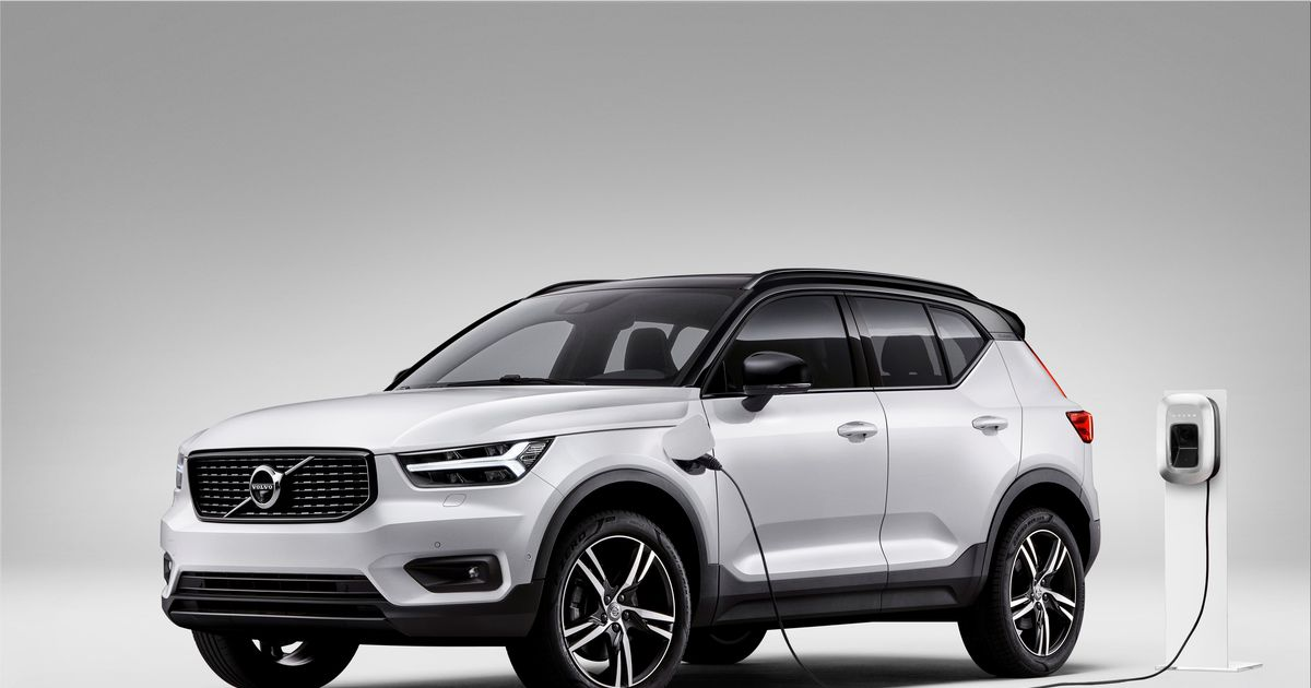 Plug In Hybrid Drive Also For The Volvo Xc40 Driving Plugin Magazine