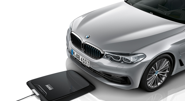 BMW to offer induction charging from July