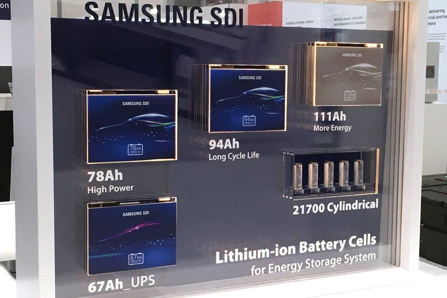 BMW I3 Battery Upgrade >> Samsung SDI announces high capacity battery cell - Driving ...