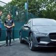 Wimbledon champion will drive Jaguar I-Pace