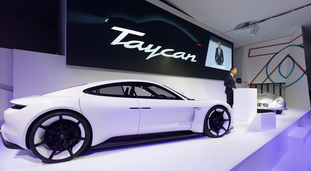 Porsche is already collecting orders for Taycan