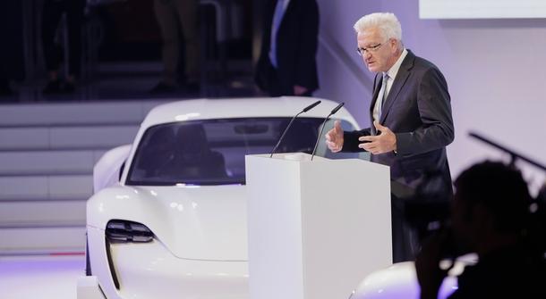 No more Mission-E, welcome Porsche Taycan