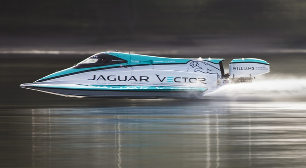 Jaguar Vector Racing V20E is the fastest electric speedboat in the world