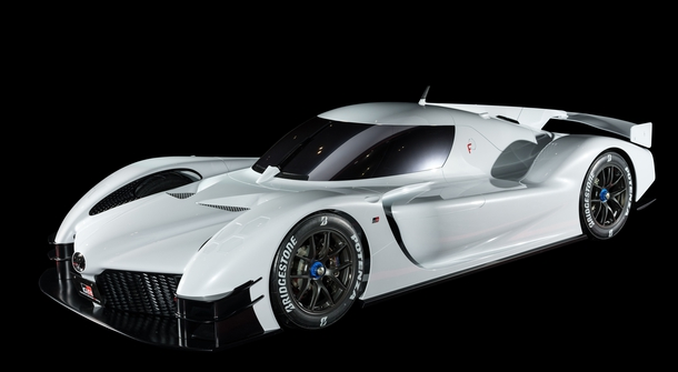 Toyota presented a 1,000 HP hybrid sports car in Le Mans