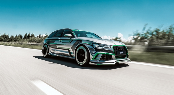 ABT has transformed Audi RS6 into a hybrid road legal supercar with more than 1,000 HP