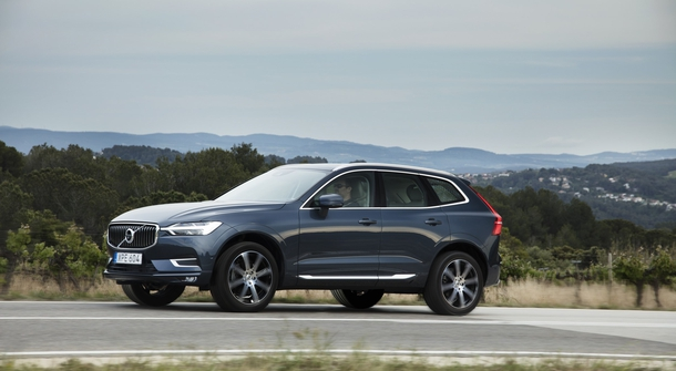 Volvo trademarking names XC60 B4 and XC60 B5