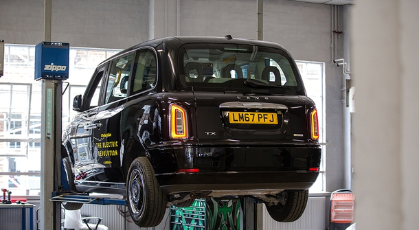 Electric taxis will operate from West London