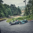 Formula E set a new electric car course record in Shelsley Walsh