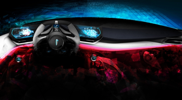Pininfarina prepares introduction of a vision of a hyper sports car for Pebble Beach