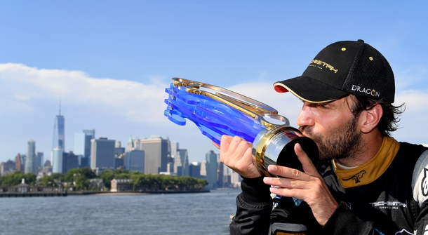 Formula E cooperated with young artists and designers to create the trophies