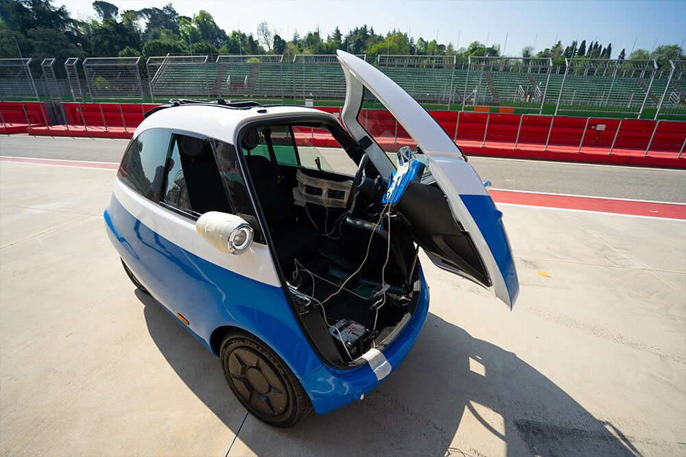Isetta for 21th century is going to be electric - Driving - Plugin