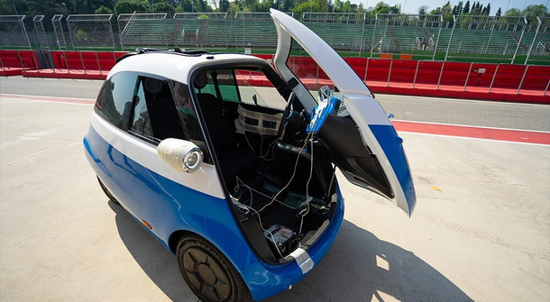 Isetta for 21th century is going to be electric