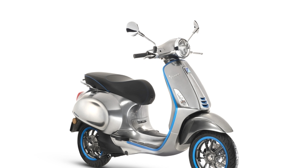 The first production Vespa Elettrica will soon hit the road
