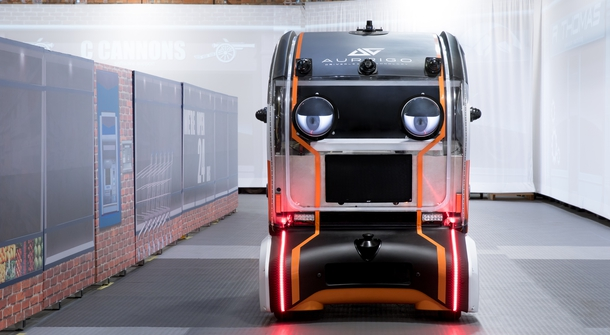Autonomous car got friendly with virtual eyes