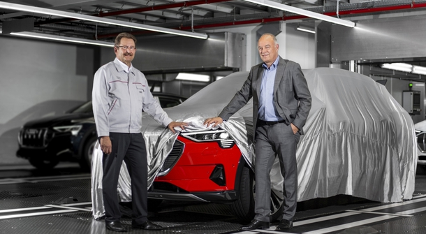 Audi starts production of e-tron