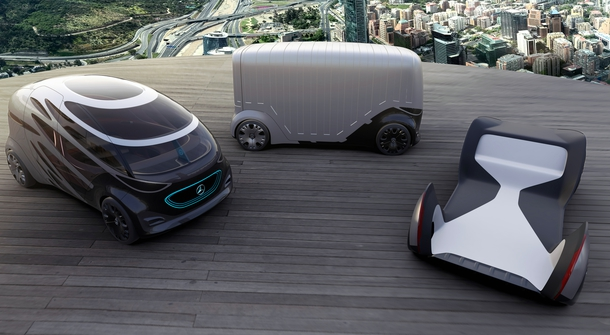 Mercedes-Benz Vans shows new concepts of future mobility