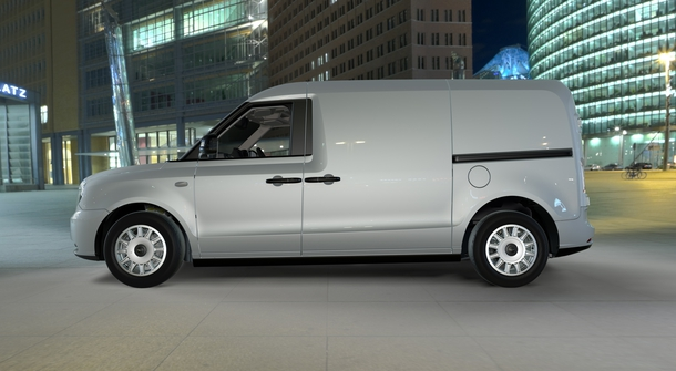 LEVC electric van is starting public trials next year