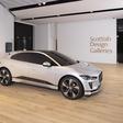 Jaguar I-Pace travels to the Scottish Design Museum