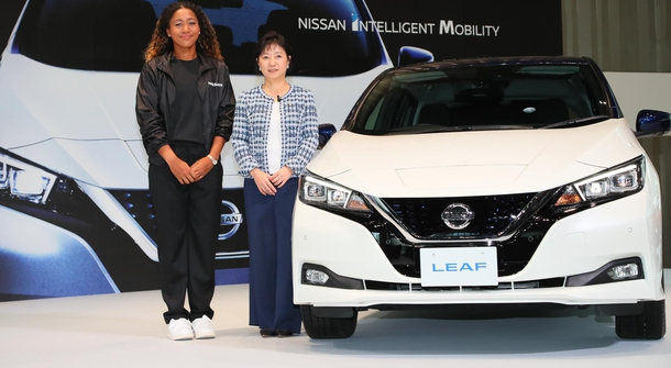 Naomi Osaka joined Nissan as ambassador