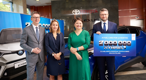 Toyota sold two millionth hybrid-car in Europe