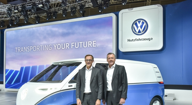 Volkswagen is being creative for those 'last mile' deliveries