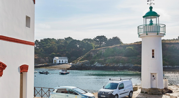 Renault is making Belle-Ile-en-Mer more independant