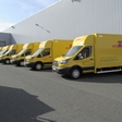 Ford starts production of an electric van for German postmen